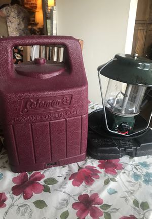 Coleman Propane Lantern w electronic Ignition for Sale in Portland, OR