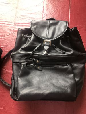 Faux Leather Backpack for Sale in Bloomingdale, IL