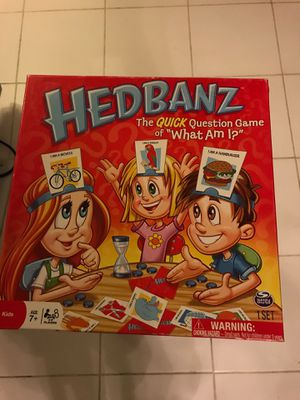 Hedbanz game for kids for Sale in Sacramento, CA