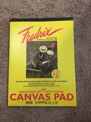 Free Canvas Pad for Sale in Seattle, WA