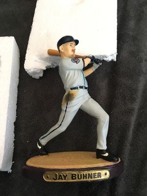 Seattle Mariners Jay Buchner collectible statue for Sale in Lynnwood, WA