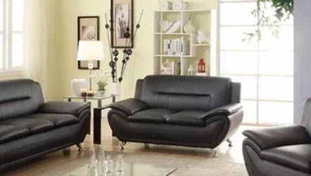 Black 3 Piece Sofa Set Brand New for Sale in Marietta,  GA