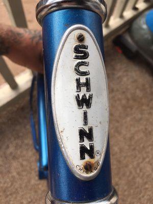 1957 Schwinn bike frame. W/ seat and handle bars. $100 for Sale in Lemon Grove, CA
