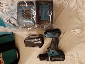 Makita XFD13 cordless drill 18v with 3.0ah 18v Lithium-ion battery and charger (new) for Sale in Phoenix, AZ