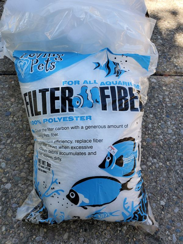Aquarium filter fiber (free)