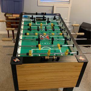 Tornado elite cyclone II foosball table for Sale in Plainfield, IL