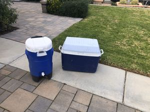Igloo and Rubbermaid Coolers for Sale in Corona, CA