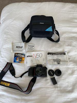 Nikon N50 Film Camera 28 mm lens for Sale in Baltimore, MD