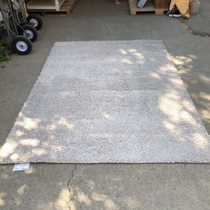 Off White Shag Rug for Sale in Rancho Cucamonga, CA