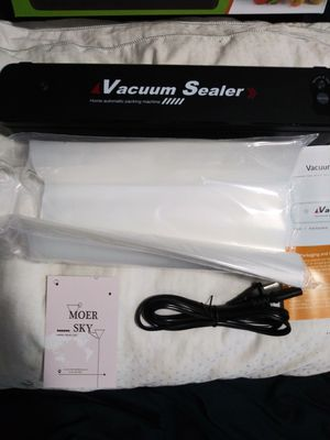 Vacuum Sealer with Bags for Sale in Brooklyn, NY