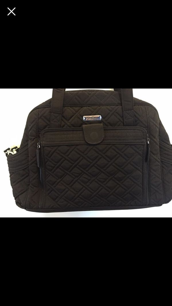 Vera Bradley Diaper Bag NWT - Espresso Brown