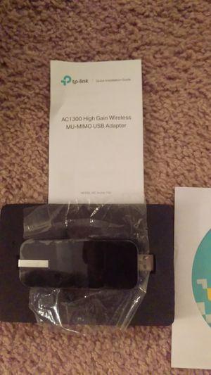TP Link AC-1300 High Gain Wireless USB Wi-Fi Adapter for Sale in Jupiter, FL