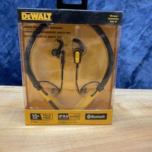 DeWALT Bluetooth Wireless earphones for Sale in Washington Township, NJ