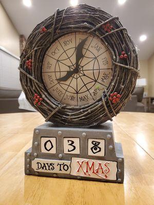 Nightmare Before Christmas Countdown Clock for Sale in Rossmoor, CA