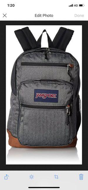 JanSport cool student 15 inch laptop backpack black and white Herringbone for Sale in Hillsboro Beach, FL