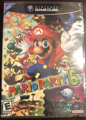 Mario Party 6 Gamecube SEALED for Sale in Scottsdale, AZ