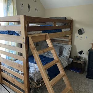 Bunk Beds All Wooden for Sale in Wake Forest, NC
