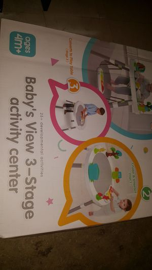 Skip Hop Explore & More Baby's View 3-Stage Activity Center for Sale in Los Angeles, CA