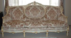 Carved Italian French Formal Living Room set Sofa Armchairs chairs for Sale in Tempe, AZ