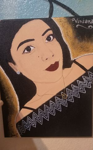 Let Me Paint You Portrait Acrylic Art Paint for Sale in Dallas, TX