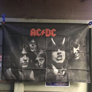 Ac/dc Band Photo With Bon Scott 2ftx3ft for Sale in Los Angeles, CA