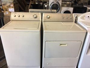 Whirlpool top load washer and gas dryer for Sale in San Luis Obispo, CA