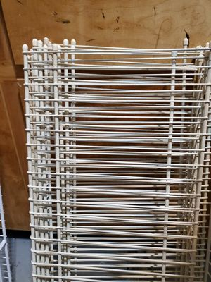 """Wire Shelving 12"""" Off White for Sale in Mooresville, NC"""