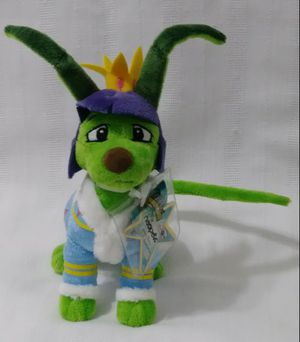 NWT NEW Neopets Royal Boy Gelert Jakks Pacific KeyQuest Virtual Code Plush Doll for Sale in Redland, FL