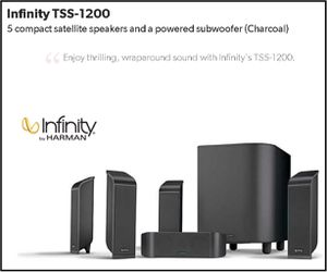 HOME THEATER SYSTEM INFINITY USED for Sale in Miami, FL