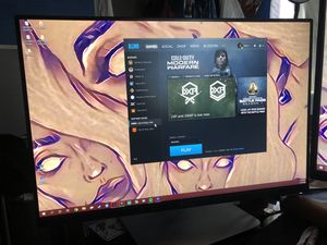 24 inch Dell computer gaming monitor u2415B for Sale in Long Beach, CA