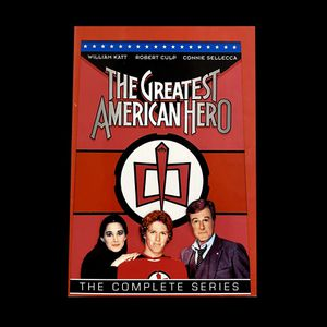 The Greatest American Hero: Complete Series (DVD, 1981-1983, 9-Disc Set) for Sale in Parkville, MO