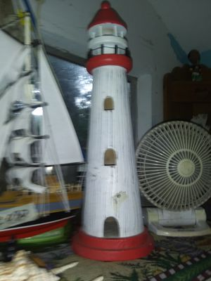 $6.99 Large Ceramic Lighthouse for Sale in FL, US