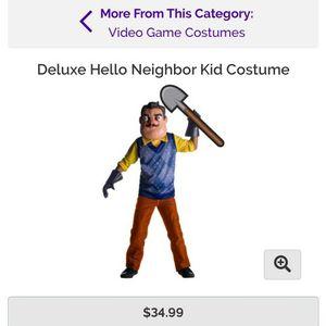 Hello Neighbor Deluxe Child Costume for Sale in Secaucus, NJ