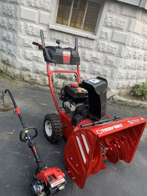 Lawn mover and weed trimmer in very good condition for sale for Sale in Norwood, MA