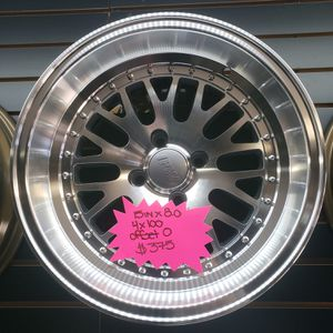 Used, BRAND NEW IPW 15IN WHEELS SIZE: 15 x 8.0 4 x100 OFFSET: 0 for Sale for sale  Woodbridge Township, NJ
