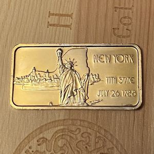 NEW YORK 11TH STATE- ONE TROY OUNCE.999 FINE SILVER BAR for Sale in Everett, MA