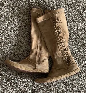 UGG moccasin style leather boots for Sale in Columbus, OH