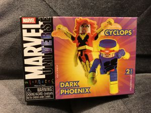 Marvel Minimates SDCC Exclusive Dark Phoenix Cyclops 2 Pack New for Sale in Fresno, CA