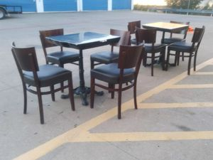 Tables & Chair for Sale in Carrollton, TX