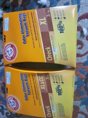 Oder helper vac bags for Sale in Groveport, OH