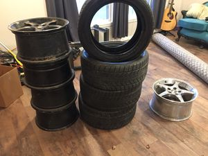 Cobra mustang rims and tires for Sale in Wichita, KS