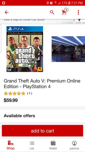 Grand theft auto / ps4 for Sale in Los Angeles, CA