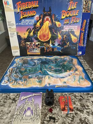 Original 1986 Fireball Island (Canadian Version) Incomplete for Sale in Clovis, CA