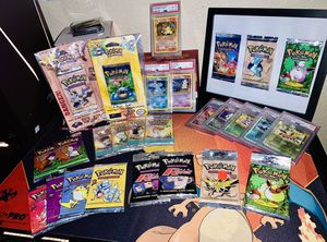 Vintage Pokémon Wizards Of the Coast for Sale in Beaumont, CA