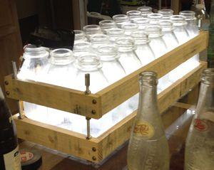 Antique milk bottles for Sale in Boynton Beach, FL