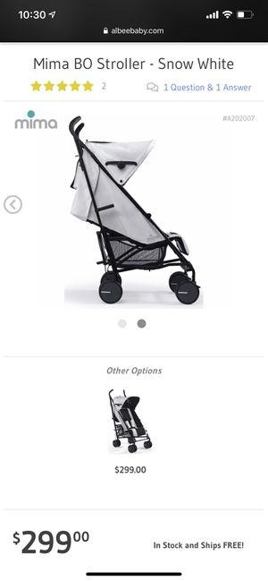 Mima bo stroller for Sale in West Covina, CA
