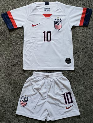 USA soccer kid jersey set camiseta conjunto de niño for Sale in Fullerton, CA