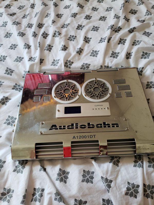 Audiobahn A12001DT Amplifier