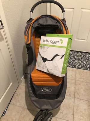 Baby jogger carseat adapter ONLY:Chicco/Peg Perego for citi mini stroller for Sale in Humble, TX