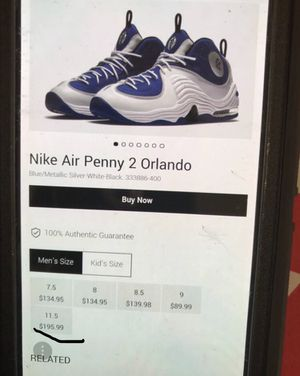 Air Penny IIs - BRAND NEW! — $120 for Sale in UPPER MARLBORO, MD